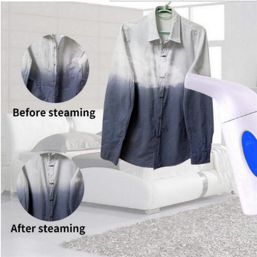 JIANSH Handheld Steam Ironing Machine 850W Home Ironing Steam Brush Electric Iron Blue