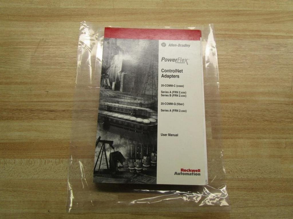 Allen Bradley 20COMM-UM003E-EN-P User Manual For Power Flex: Amazon.com:  Industrial & Scientific