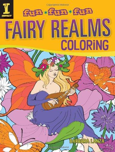 Lanza Solutions - Fairy Realms Coloring (Fun Fun Fun)