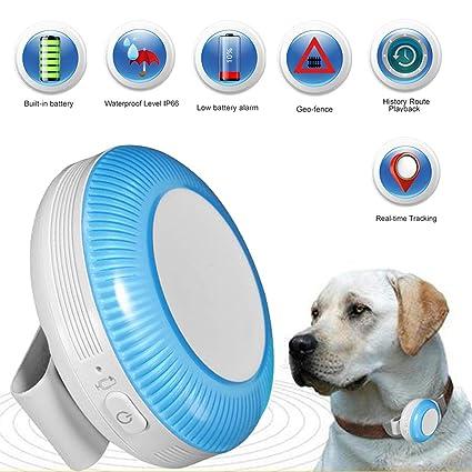 Zeerkeer Mini GPS Tracker,Rastreador GPS de Mascotas con ...