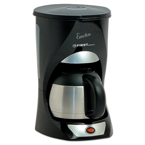 10 Tassen Kaffeemaschine Mit 1 L Edelstahl Thermoskanne Und Warmhalteplatte