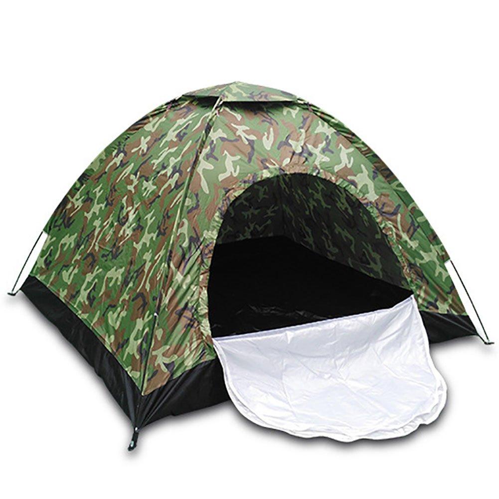 Linjinfeng Armee Fan Zelt Outdoor Camping Wandern Equipment Single Double Drei oder vier Camouflage Camping Zelt (200  180  120 cm)