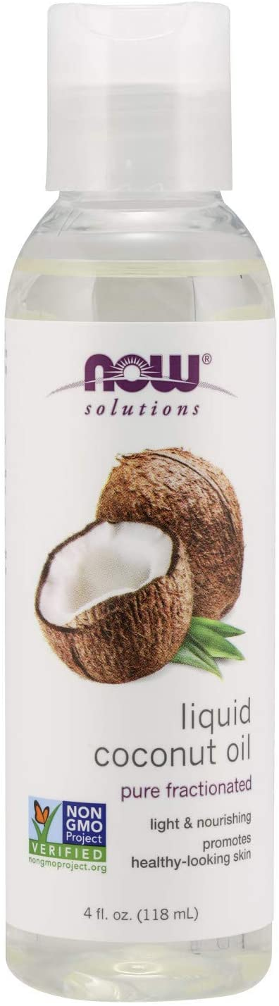 Now Solutions Liquid Coconut Oil 4 Ounce