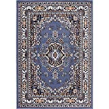 """Home Dynamix Premium Sakarya Area Rug Traditional Persian-Inspired Carpet 