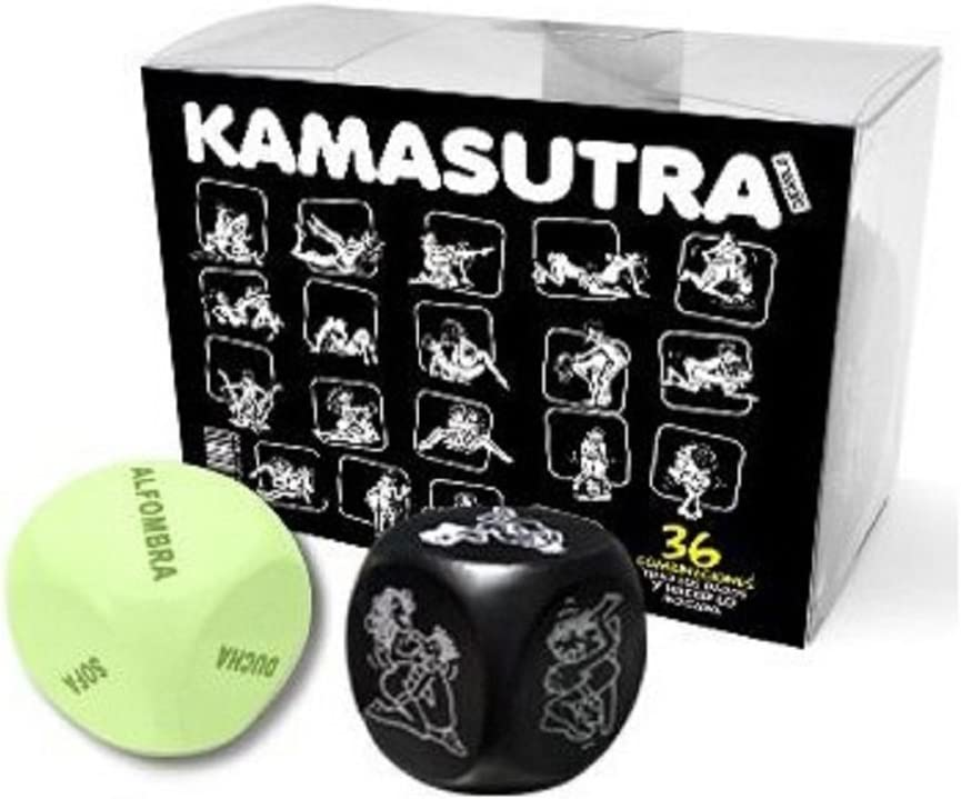 Juegos eróticos para parejas - Juego dados posturas Kamasutra ¿Que postura os tocará hacer?: Amazon.es: Salud y cuidado personal