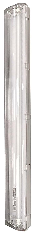 NSF Certified 88W Neutral White Americas Green Line LED Vaportight Fixture 4000K 10960 Lumens 8ft T8 DLC Certified