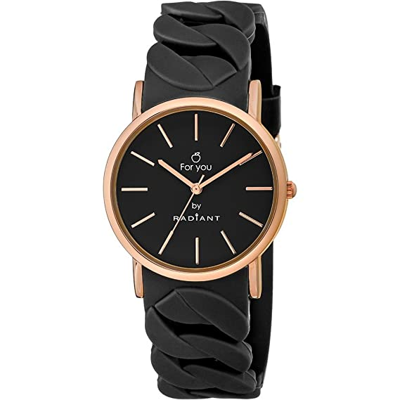 Reloj Radiant New for you RA428601 Mujer Negro: Radiant New: Amazon.es: Relojes
