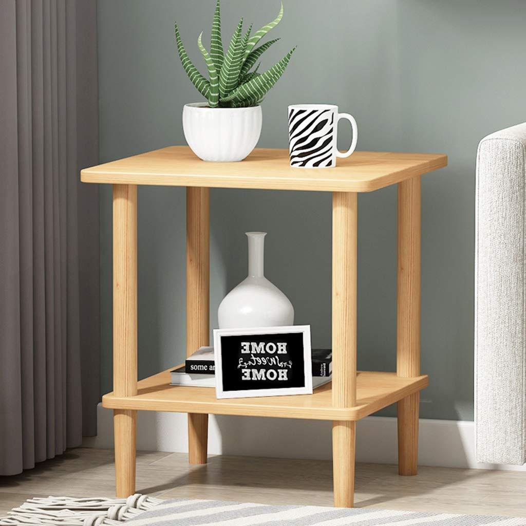 Tavolino Da Appoggio Tavolo Dappoggio Mobile Laterale For Divano Comodino In Legno Massello Quadrato Tavolo Da