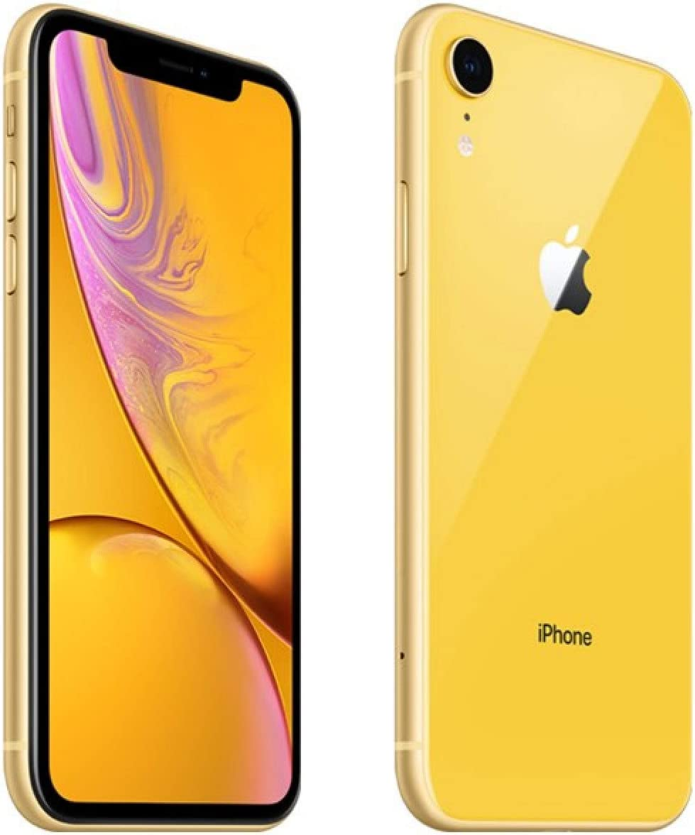 Apple Iphone Xr, T-Mobile, 128Gb - Yellow (Renewed)