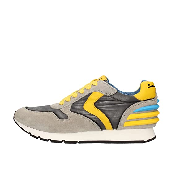 wholesale dealer b22b7 c6d0d Voile Blanche Scarpe Sneaker Uomo LIAM POWER VELOUR-TESSUTO ...