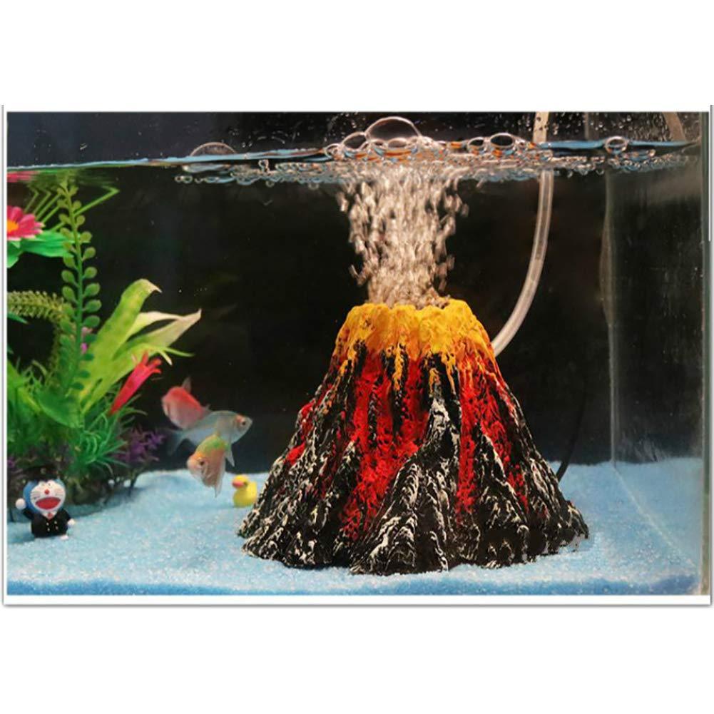 Decor Turtle Aquarium Bubble Air Stone Diffuser Fish Tank Aerator Oxygen Pump