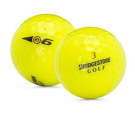 Bridgestone 48 E6 Yellow 5A Golf Balls Packaging May Vary