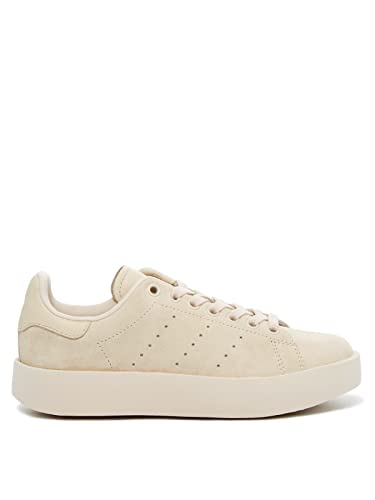adidas Originals Women's Stan Smith Bold Women's Leather Sneaker In Size 5 US Beige