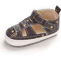 Unisex Zapatos Bebé Niño Niña Primeros Pasos Recién Nacido Plano con Suela Suave Antideslizante