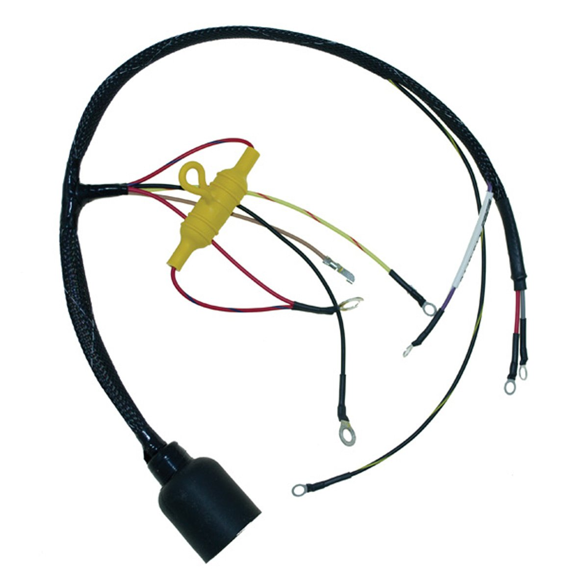 Johnson Evinrude Round Plug Internal Engine Wiring Pwc Harness 50 Hp 1973 2 Cyl Wsm 413 5776 Oem 385776 Automotive