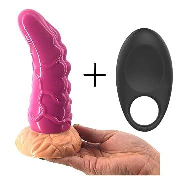 Completo de silicona Anall Beads Agradable juguetes Xl Dilatador Anales Plug para hombre mujer rosa con 10 anillos de frecuencia: Amazon.es: Salud y cuidado ...