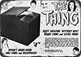 1965 Addams Family The Thing Coin Grabber Bank Vintage Look Reproduction Metal Tin Sign 7X10 Inches