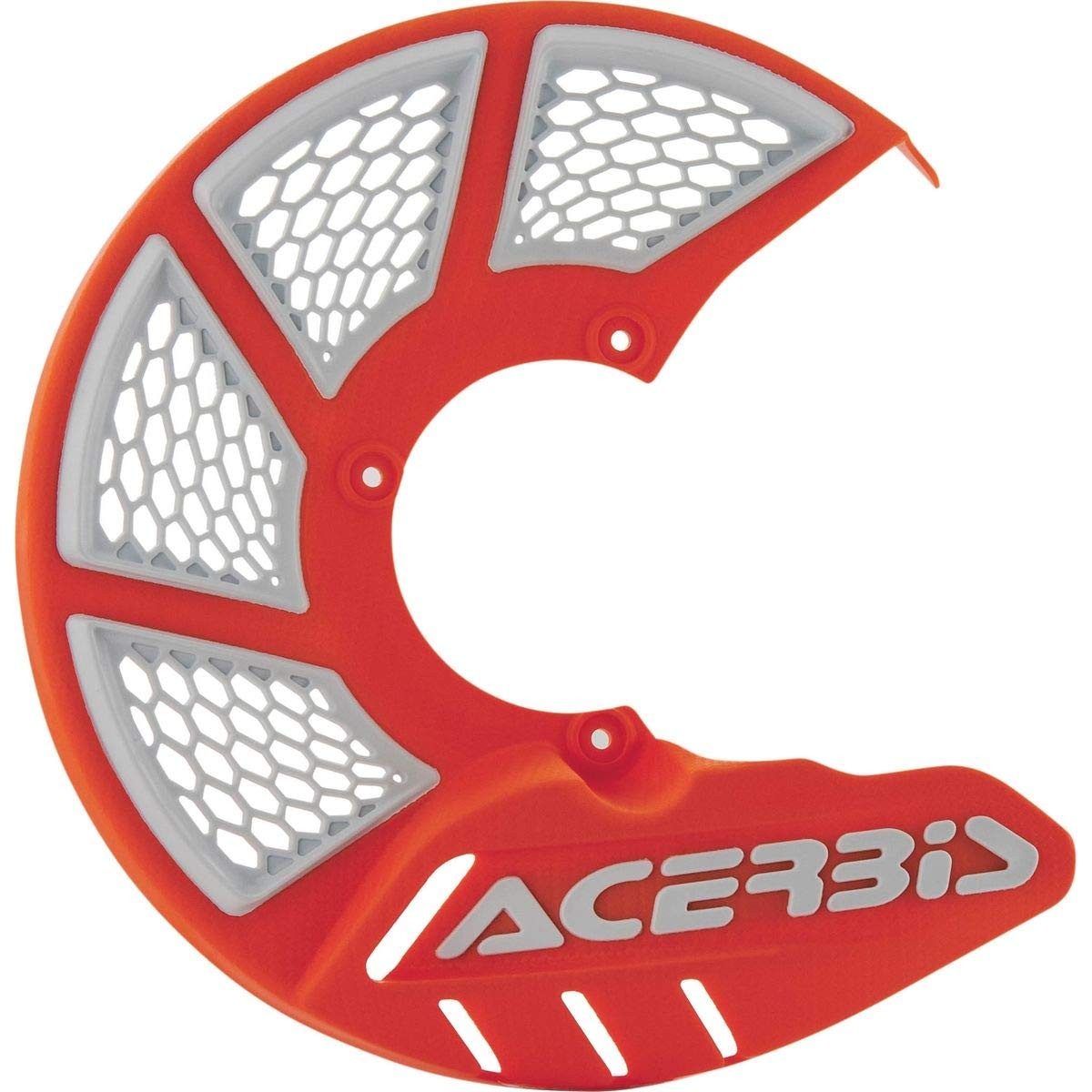Green//White Acerbis X-Brake Vented Front Disc Cover