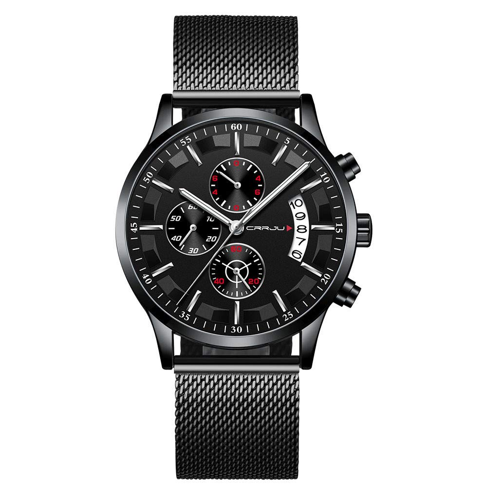 Watch for men,Fashion Popular Men's Watch Hot Casual Personality Watch (D)