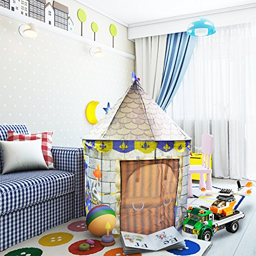 Castle Play Tent House For Kids Girls Boys Outdoor and Indoors