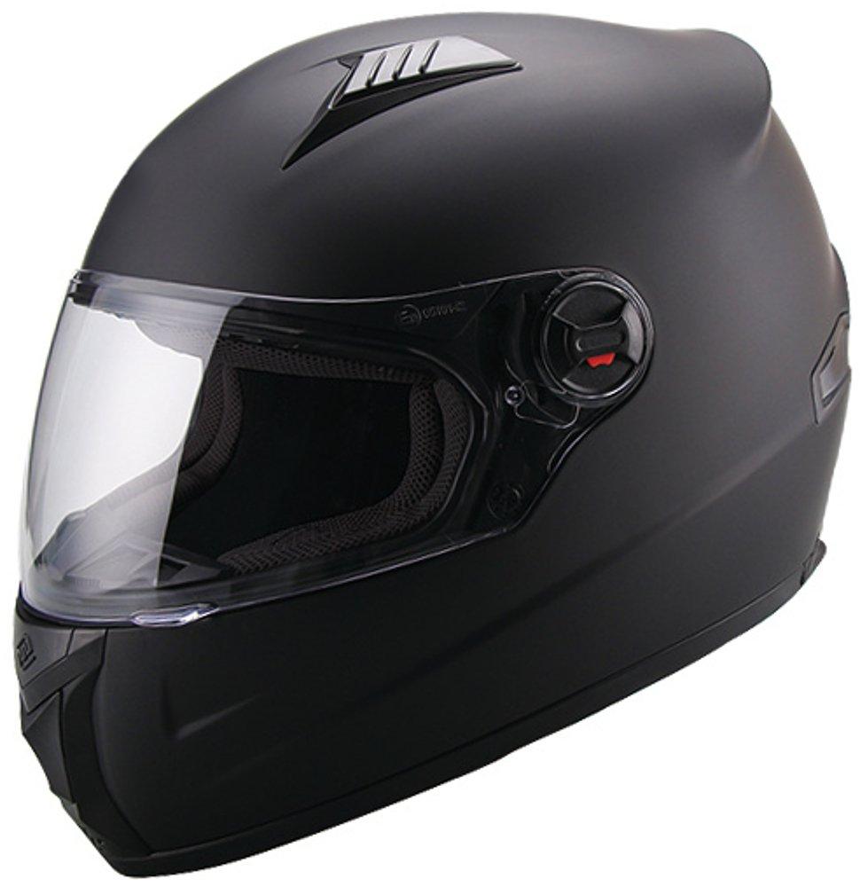Integralhelm Helm Motorradhelm RALLOX 708 schwarz matt S M L XL Gr/ö/ße S
