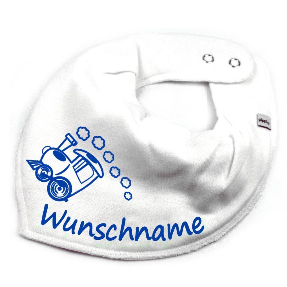 HALSTUCH PRINZESSIN mit Namen oder Text personalisiert dunkelblau für Baby oder Kind Elefantasie Halstücher