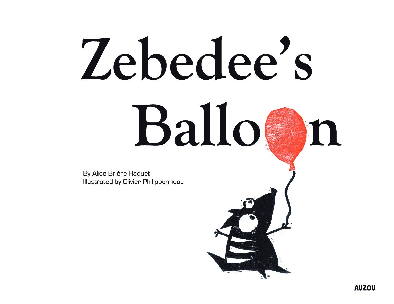 Read Online Zebedee's Balloon PDF