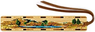 product image for Fly Fisherman Fishing, Colorful Wooden Bookmark with Suede Tassel - Search B07VFYD5QJ for Personalized Version