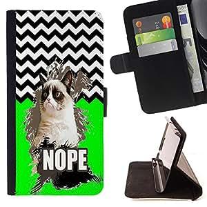 Dragon Case - FOR HTC One M7 - Love is not madness - Caja de la carpeta del caso en folio de cuero del tirš®n de la cubierta protectora Shell