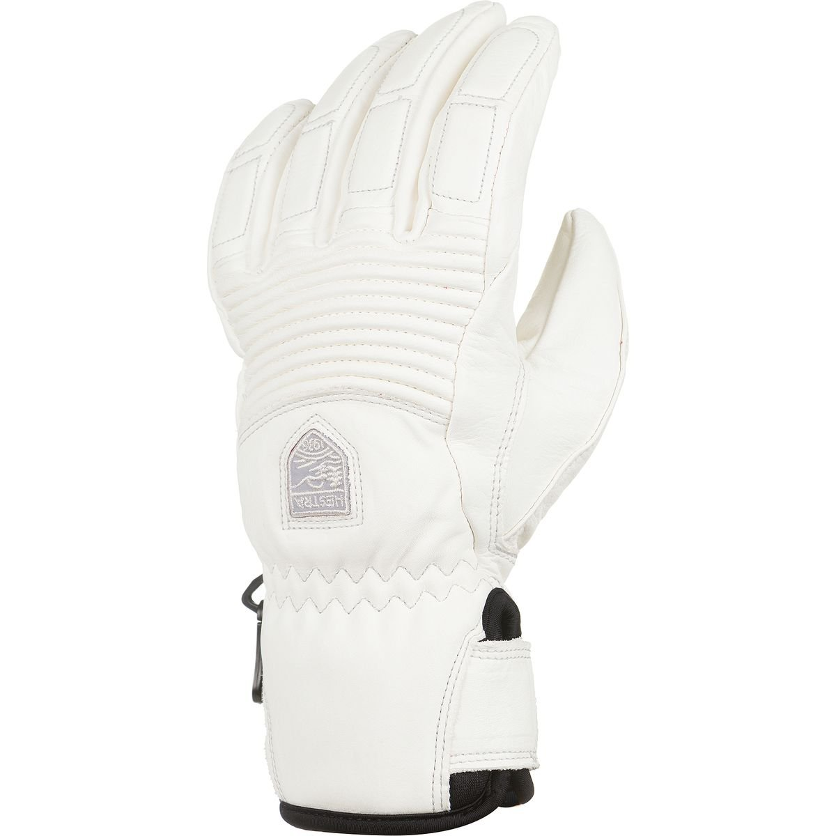 Hestra Gloves 30210 Women's Leather Fall Line, Offwhite/Offwhite - 6