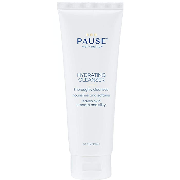 Pause Hydrating Cleanser | Moisturizing Facial Cleansing Wash Formulated to Clean All Skin Types Experiencing the Stages of Menopause, Removes Impurities & Makeup, Softens Skin, 3.5 fl oz /105 mL