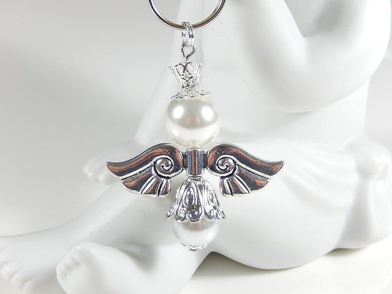 Schutzengel Schlüsselanhänger kleines Geschenk Anhänger Mitbringsel Glücksbringer Gastgeschenk