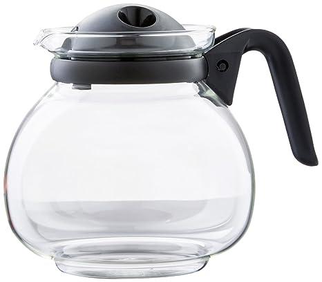Boral 46860 Jarra de Cristal Palma 1,5 litro microondas, Negro ...