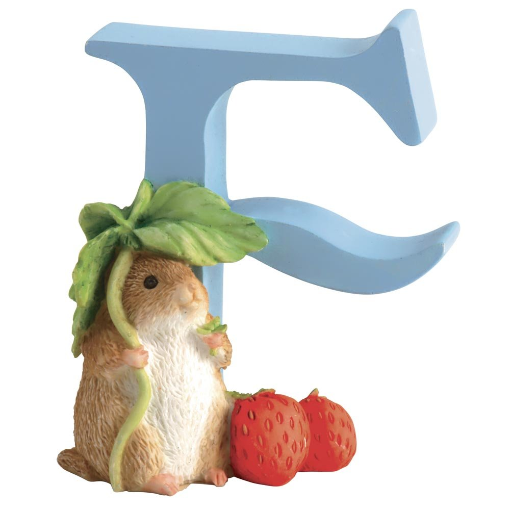 Beatrix Potter Alphabet Letter F Timmy Willie Figurine FBA_A4998