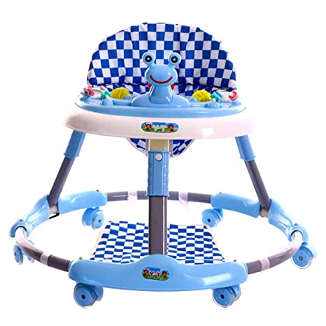 MUYU Plegable Andador Bebé Ajustable con 6 Ruedas ...