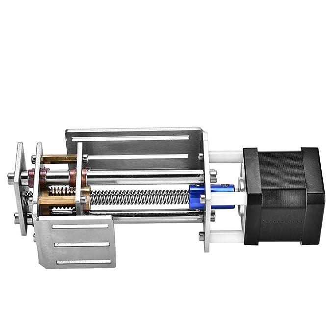 Carril guía CNC Ejes en Z Diapositiva 60MM Fresa DIY Carril guía de movimiento lineal para carpintería Máquina de grabado CNC: Amazon.es: Industria, empresas y ciencia
