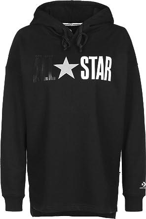 Converse All Star Fleece PO Sweats & Polaires Femmes Noir