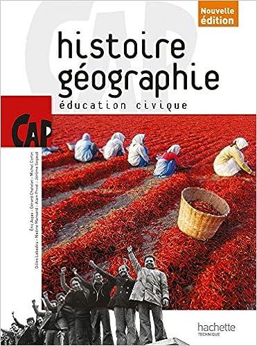 Histoire Geographie Cap Livre Eleve Consommable Ed 2014