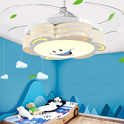 Surprising Modern Led Invisible Fan Light Childrens Room Ceiling Fan Download Free Architecture Designs Ferenbritishbridgeorg