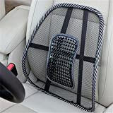 MAXGOODS Back Car Seat Chair Massage Lumbar Support Mesh Ventilate Cushion Pad