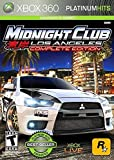 Midnight Club Los Angeles complete edition Xbox 360 Platinum Hits