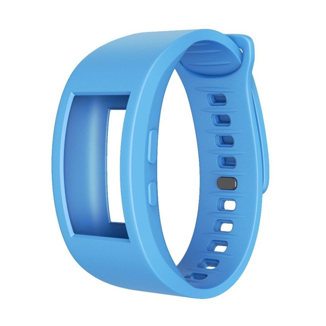 For Samsung Gear Fit 2/ Gear Fit 2 Pro Bands, Silicone Wirstband Replacement Strap/Bracelet for Gear Fit 2 Pro Smart Watch Fitness, Large Small for ...