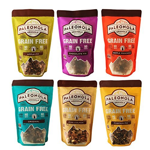 Paleonola - Grain Free Granola - Variety 6 Pack … made in New England