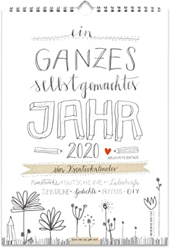 Kalender gestalten 2020