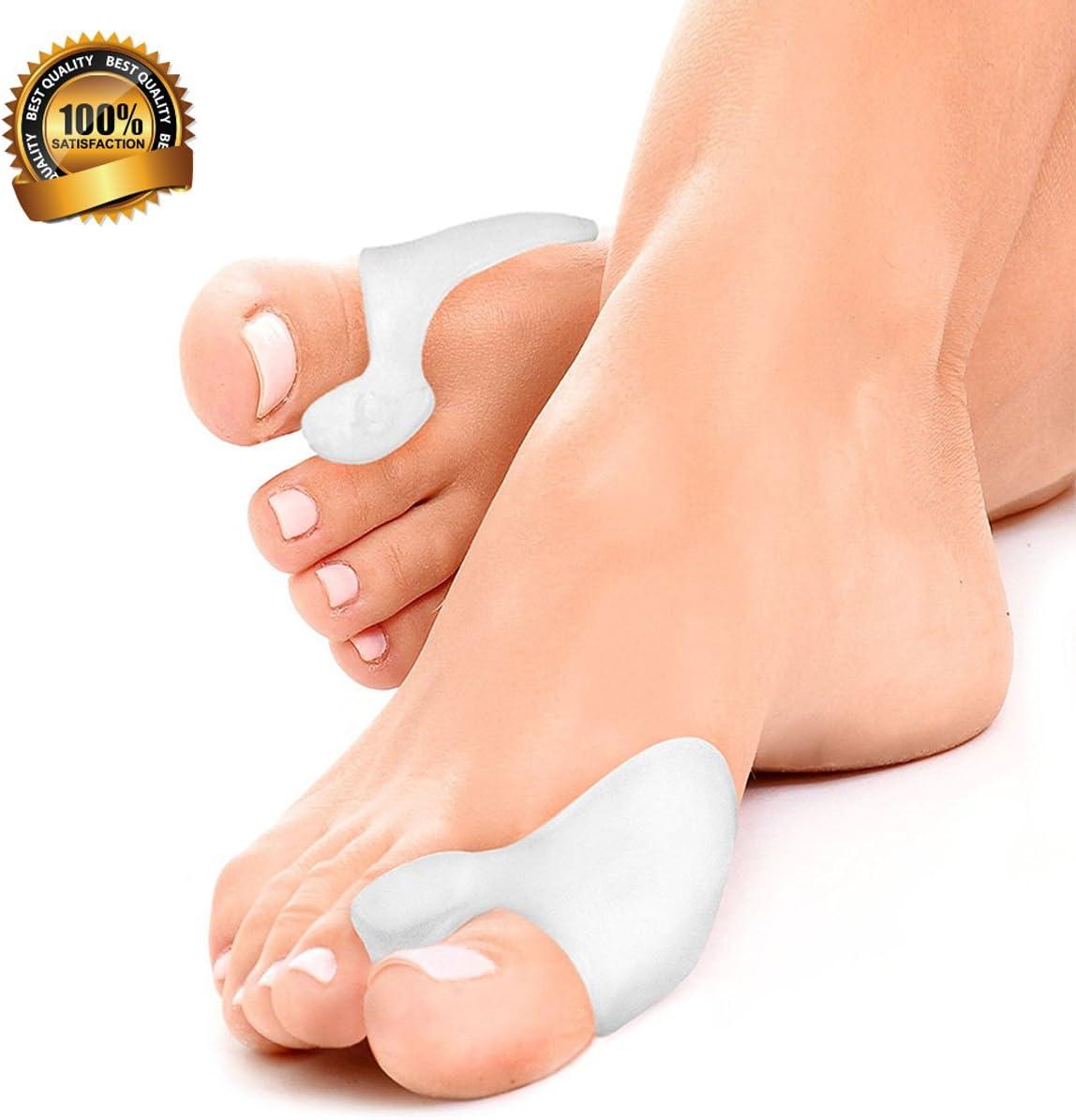 protection dorteil pour oignon TDI entretoises pour /éviter les douleurs de linconfort pour soulagement Love77 S/éparateur pour orteil en gel