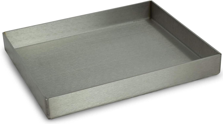55 x 40 cm. aus 304 Edelstahl Sauvic 02730-Grillrost mit F/ü /ß en