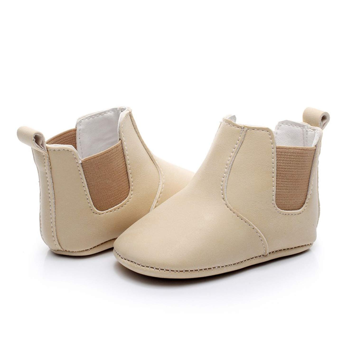 Fralina Baby Leather Warm Winter Shoes Newborn Girls First Walkers Infant Toddler Soft Soled Anti-Slip Boots Booties