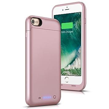Funda Bateria para iPhone 7/8, Funda Cargador Recargable de ...