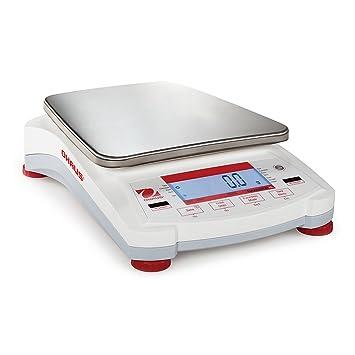Balanza de precisión de Ohaus Navigator XL - verificación-pesadora NVL5101 hasta a 5.100 g - 0. 5 g exactamente: Amazon.es: Oficina y papelería