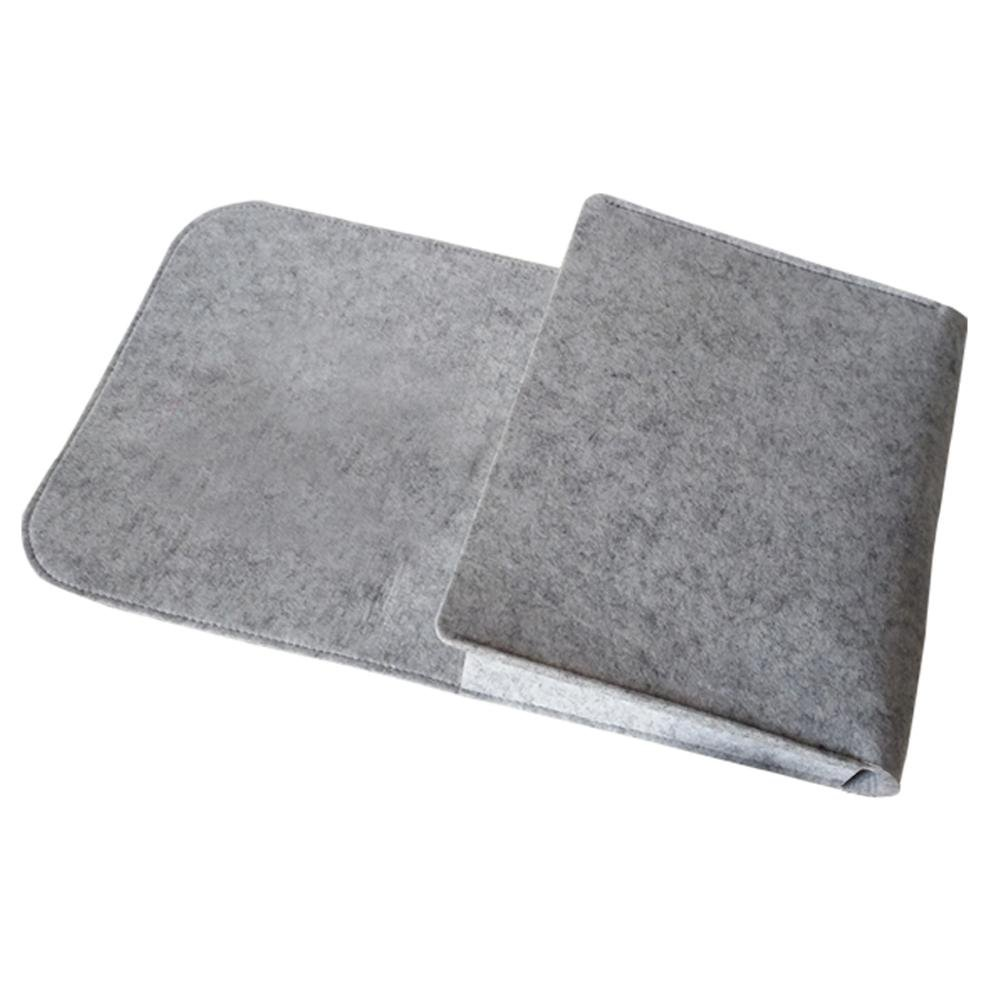 Diuspeed Pocket Bedside Organiser Felt Storage Bag for Tablet Organiser Gris Non Pore